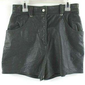 Genuine Harley Davidson Leather Shorts